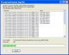 Load logfiles dialog
